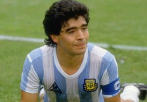 Diego Armando Maradona is one of the famous Argentine retired professional footballer.