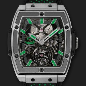 The cool replica Hublot Masterpiece 906.NX.0129.VR.AES13 watches have skeleton dials.