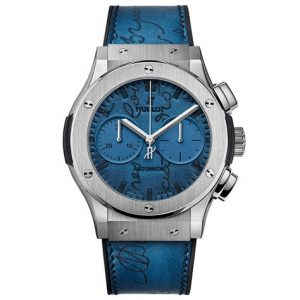 The sturdy fake Hublot Classic Fusion 521.NX.050B.VR.BER18 watches are made from titanium.