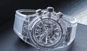The special copy Hublot Big Bang 411.JX.4802.RT watches are almost transparent.