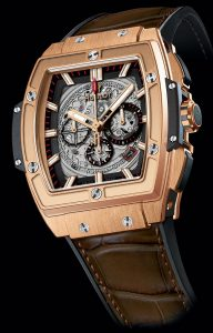 The luxury fake Hublot Spirit Of Big Bang 601.OX.0183.LR watches are made from 18k red gold.