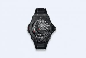 The durable watches copy Hublot MP09 909.QD.1120.RX are made from three-dimensional carbon fibre.