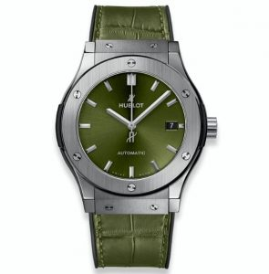 The sturdy fake Hublot Classic Fusion 511.NX.8970.LR watches are made from titanium.