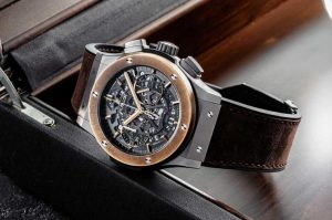 "The limited replica Hublot Aerofusion Chronograph ""Molon Labe"" watches have launched for only 25 pieces."