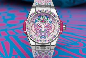 The dials of the well-designed replica Hublot watches are plated with traditional face paintings.