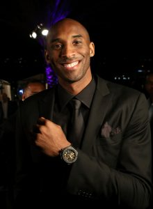 Kobe Bryant is the brand ambassador of Hublot.