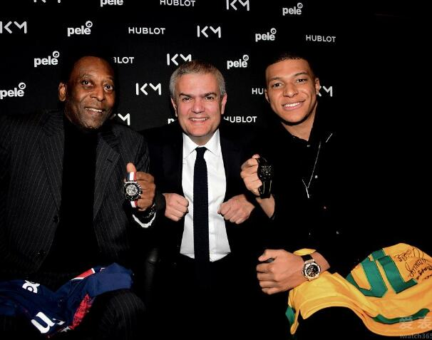Both the two famous football stars are the ambassadors of Hublot.