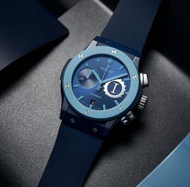Inspired by the ocean, the new Hublot is profound and mysterious.