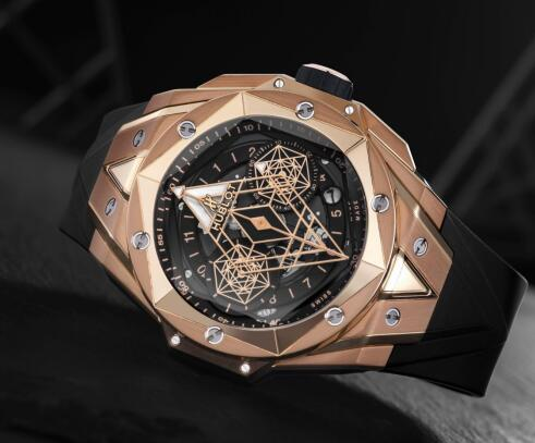 The timepiece perfectly presents the brand's craftsmanship and innovation.