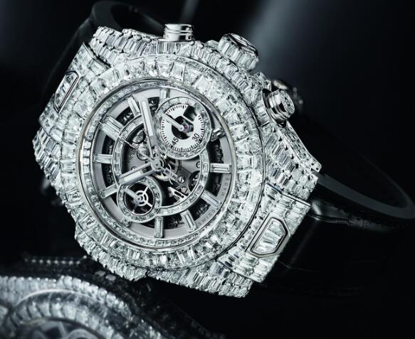 Hublot never stops developing innovative timepieces.